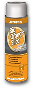 Zenex Big Orange Slice Heavy-Duty Citrus Degreaser - 12 Cans (Case) by ZENEX International