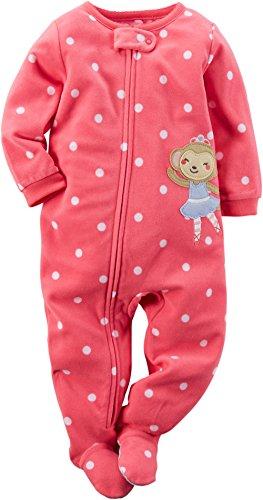 362146e1f0 Carters Baby Girl Fleece Pajamas (18 Months