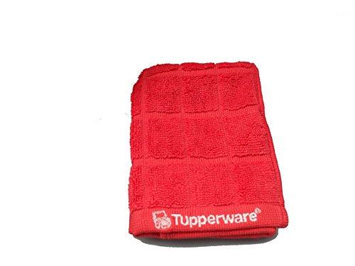 Tupperware FaserPro T23 Küche Abtrockentuch rot