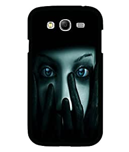 printtech Girl Staring Blue Eyes Back Case Cover for Samsung Galaxy Grand 2 G7102::Samsung Galaxy Grand 2 G7106