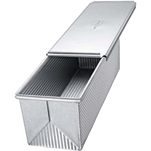 USA Pans 13 x 4 x 4 Inch Pullman, Aluminized Steel with Americoat