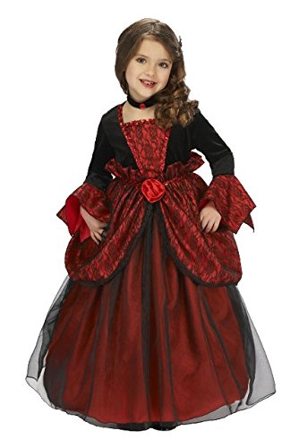 Just Pretend Kids Vampire Princess Costume with Hoop and Choker, Small