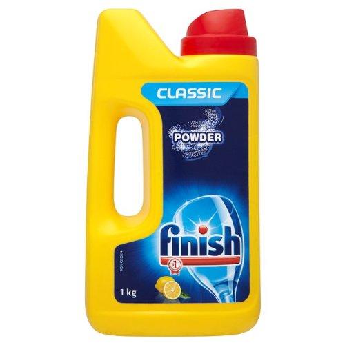 Finish Dishwasher Powder Detergent Lemon Sparkle 4x 1kg
