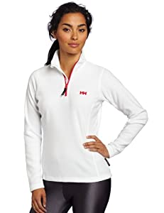 Helly Hansen Women's W Daybreaker 1\2 Zip Fleece Pullover - White, X-Small