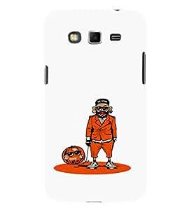 EPICCASE Pumpkin guy Mobile Back Case Cover For Samsung Galaxy Grand (Designer Case)