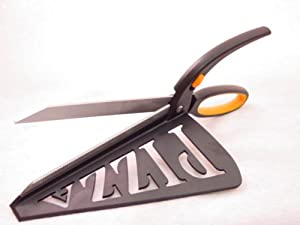PIZZA SCISSORS / SPATULA - CUT n SERVE Stainless Steel