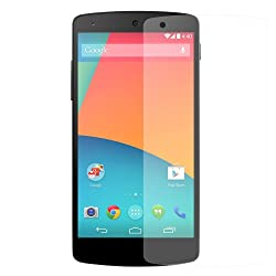 Seidio Ultimate Screen Guard for LG Nexus 5 - Retail Packaging - Crystal Clear