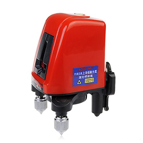 Ak435 360Degree Self-Leveling Cross Laser Level Red 2 Line 1 Point front-607034