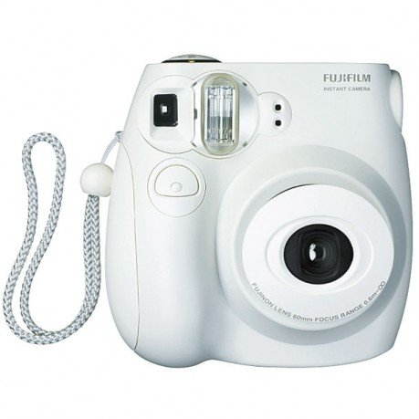 Fujifilm Instax Mini 7S Instant Film Camera White + 70 Instax Mini Film