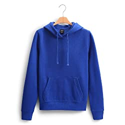 Giftsmate Classic Royal Blue Men Sweatshirt With Hoodie and Kangaroo Pocket With Hoodie and Kangaroo Pocket