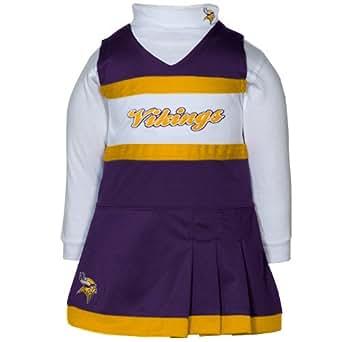 Amazon Minnesota Vikings Infant Cheer Uniform 24