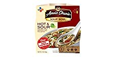 Annie Chun's Hot & Sour Soup Noodle Bowl, 5.7-Ounce Bowls (Pack of 6)