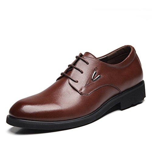 Business casuale scarpe/Scarpe cinturino in pelle/Traspirante scarpe/Pattini di vestito-B Lunghezza piede=24.8CM(9.8Inch)