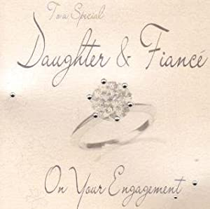 Amazoncom Daughter And Fiance On Your Engagement