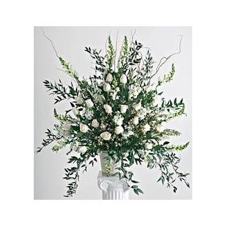 Flowers - Wedding Ceremony Arrangement - Yellow
