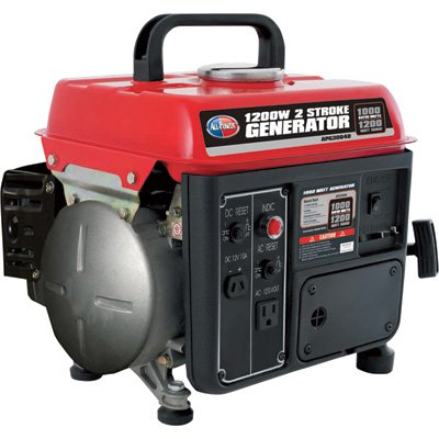 41vm5Lxd5XL. SL500  All Power America APG3004D 1,200 Watt 2 Stroke Gas Powered Portable Generator