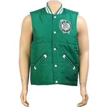 Boston Celtics Mitchell & Ness Tailgate Vest by Mitchell & Ness