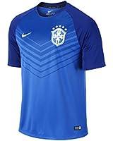 Nike Men's Brasil CBF Squad Pre-Match Dri Fit T-Shirt