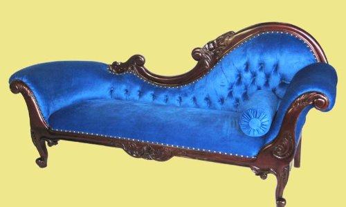 Extravagantes exklusives Chaiselongue Empire Sofa no10L