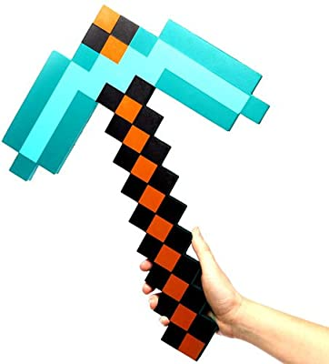 Exclusive Minecraft Foam Diamond Pickaxe from ThinkGeek