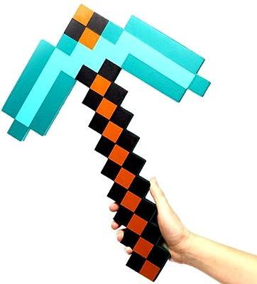 Exclusive Minecraft Foam Diamond Pickaxe from ThinkGeek