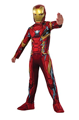 Boys Captain America: Civil War Iron Man Costume