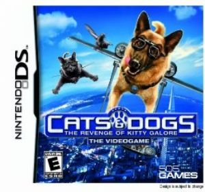 Cats and Dogs: Revenge of Kitty Galore (Nintendo DS) - 1