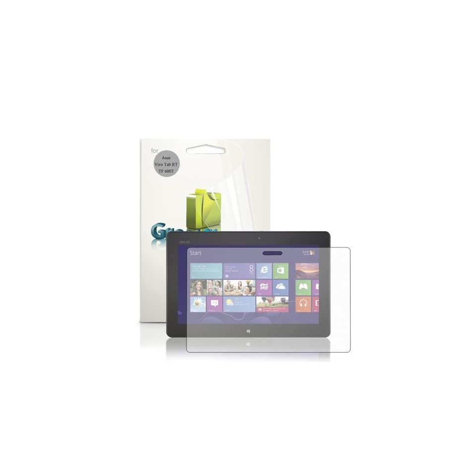 GreatShield Ultra Anti Glare (Matte) Clear Screen Protector Film for ASUS VivoTab RT / TF600T Tablet (3 Pack)