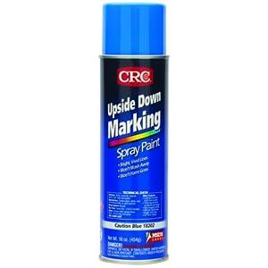 Crc upside down marking spray paint 16 oz aerosol can for Upside down paint sprayer
