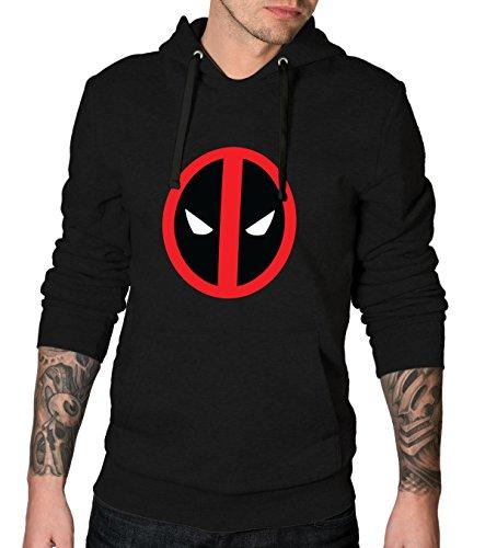 Deadpool Logo Black Hoodie