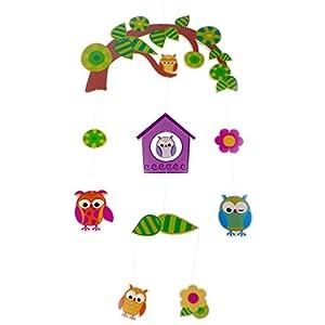 Hess  Giostrina con giocattoli in legno per passeggino/culla  Prima infanzia Valutazione del cliente