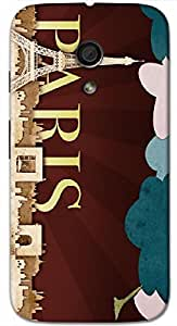 Timpax protective Armor Hard Bumper Back Case Cover. Multicolor printed on 3 Dimensional case with latest & finest graphic design art. Compatible with Motorola Moto -G-2 (2nd Gen )Design No : TDZ-27648