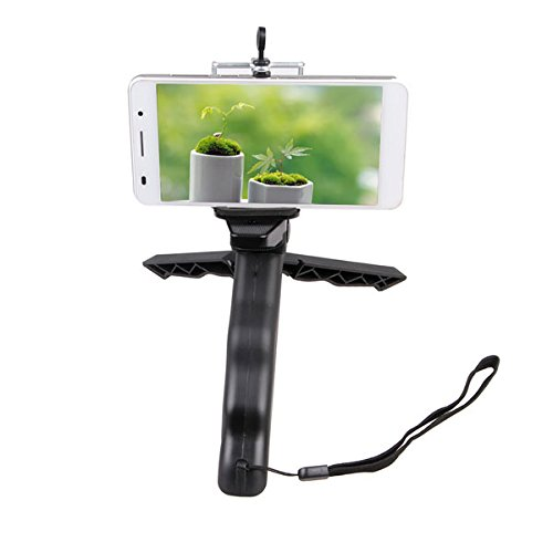 Debo 2 In1 Mini Portable Folding Table Top Tripod Stand Handheld Grip Tripod For GoPro DC DSLR Camera Smartphone (Foldable Camera Tabletop compare prices)