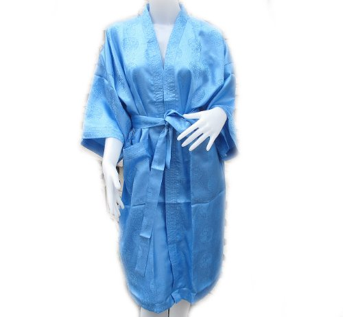 Bath Robe Chinese Coin Pattern Kimono Women'S With Complimentary front-1073851