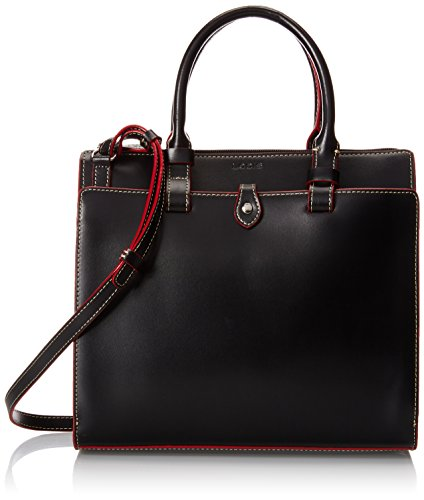 Lodis Audrey Linda Medium Satchel Top Handle Bag, Black, One Size