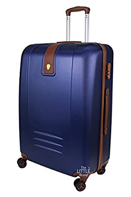 Rocklands Lightweight 4 Wheel ABS Hard Shell Luggage Suitcase Cabin Travel Bag ABS9068 by Rocklands London