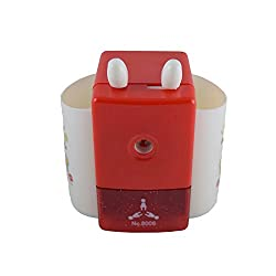 Funmatic Red Automatic Pencil Sharpner with inbuilt Stand