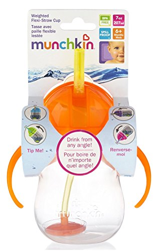 Munchkin Weighted Flexi-Straw Cup from USA