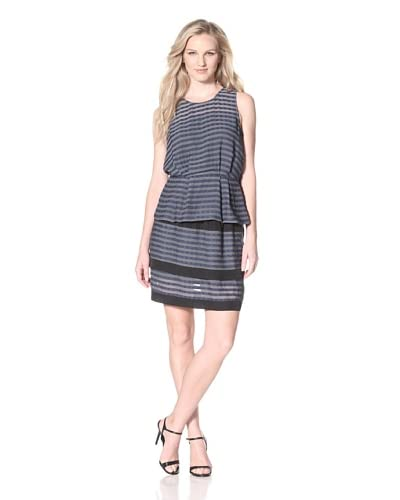 W118 by Walter Baker Women's Carolyn Top  [Navy Stripe]