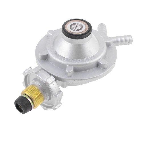 Water & Wood Bottled Compressed Gas Pressure Regulator Valve Coffee Silver Tone front-623013
