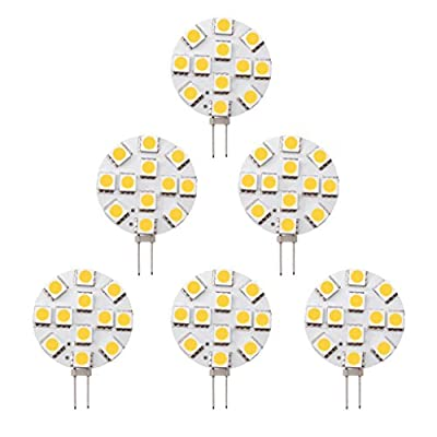 Dream Lighting LED G4 Bulb Side Pin Warm White Pack of 6