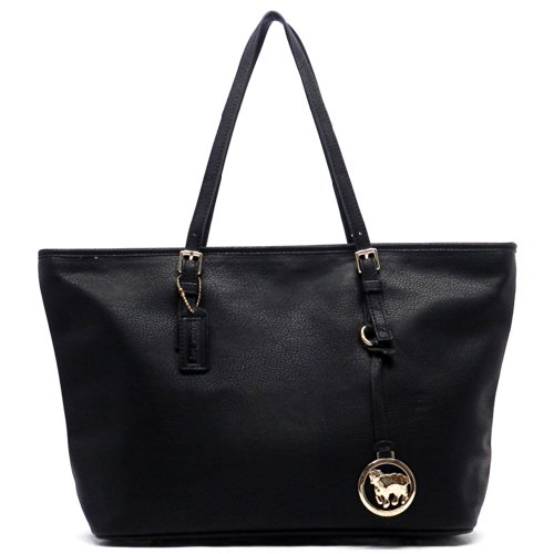 Ss Fashion Shopper Tote Bag (Black)