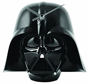 Star Wars Darth Vader Helmet Sfx Light Up Wall Clock Alarm Clock Dark Vader