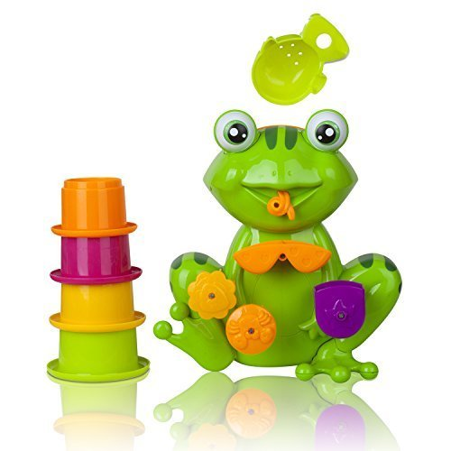 Zig Zag Kid Frog Toddler Non-toxic Bath Toys