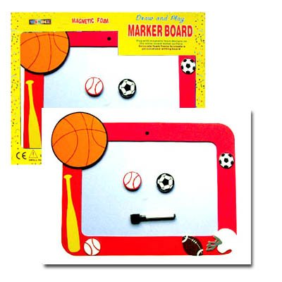 Magnetic Foam Erasable Board-Sports