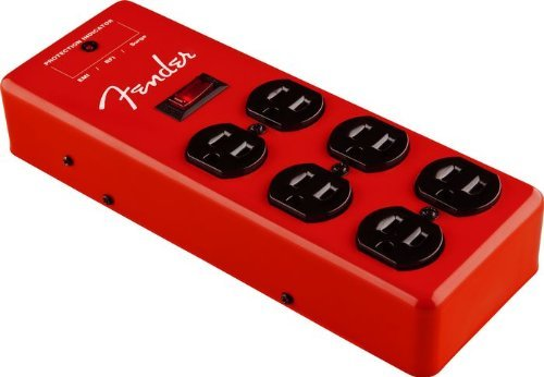 Fender Surge Protector 120V - Red (Fender Power Cord compare prices)