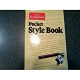 The Economist pocket style book (0850580870) by The Economist