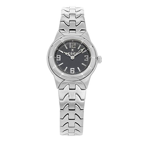 Ebel E Type 9157C11-3716 Gray Dial Stainless Steel Quartz Ladies Watch (Certified Pre-owned) (Ebel Type E compare prices)