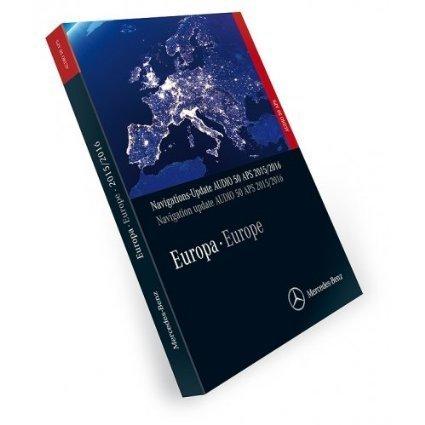 Mercedes-Navigation-DVD-Software-Audio-50-APS-Europa-20152016-A2048270600-Korallenrot