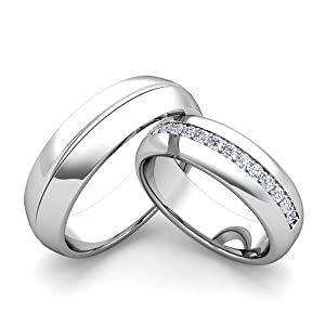 wedding engagement rings bridal sets image unavailable image not ...